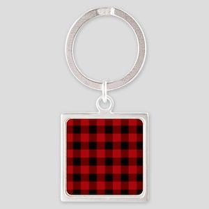 Red Plaid Keychains