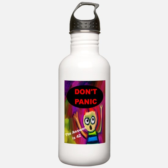 Don't Panic - The Answ Water Bottle