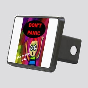 Don't Panic - The Answer i Rectangular Hitch Cover