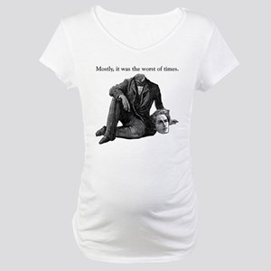 Worst of Times Maternity T-Shirt