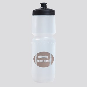 Personalized Football Sports Bottle