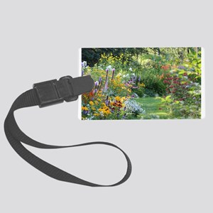 Where 3 Gardens Meet Large Luggage Tag
