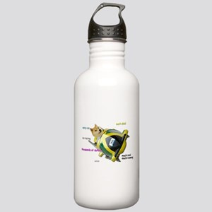 Doge funded Jamaican B Stainless Water Bottle 1.0L