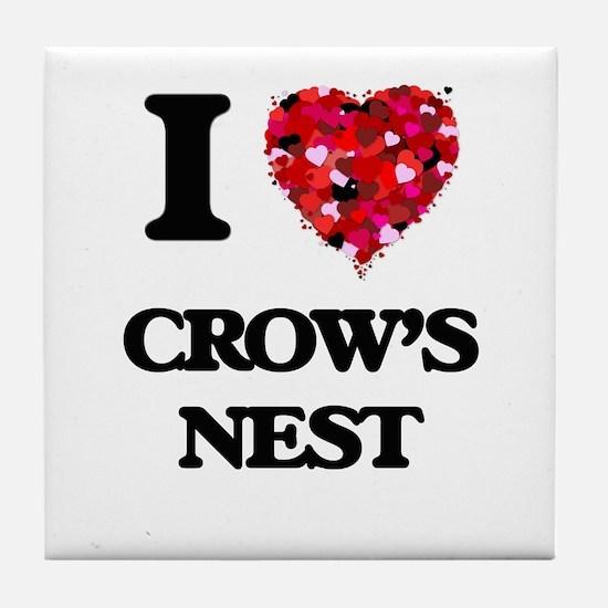 I love Crow'S Nest Massachusetts Tile Coaster