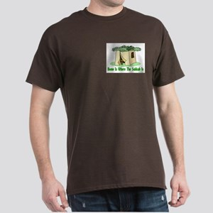 Home Is Where The Sukkah Is Dark T-Shirt