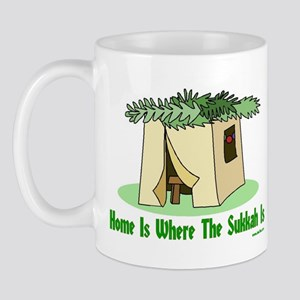 Home Is Where The Sukkah Is Mug