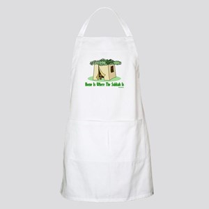 Home Is Where The Sukkah Is BBQ Apron