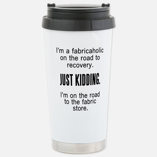 Fabricaholic Stainless Steel Travel Mug