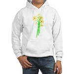 Little Daisy Bouquet Hooded Sweatshirt