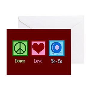Yoyo greeting cards cafepress m4hsunfo