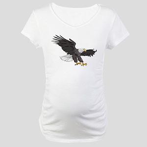 American Bald Eagle Maternity T-Shirt