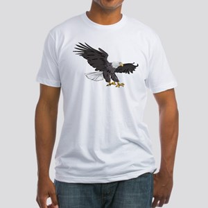 American Bald Eagle Fitted T-Shirt