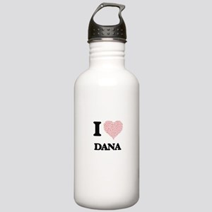 I love Dana (heart mad Stainless Water Bottle 1.0L