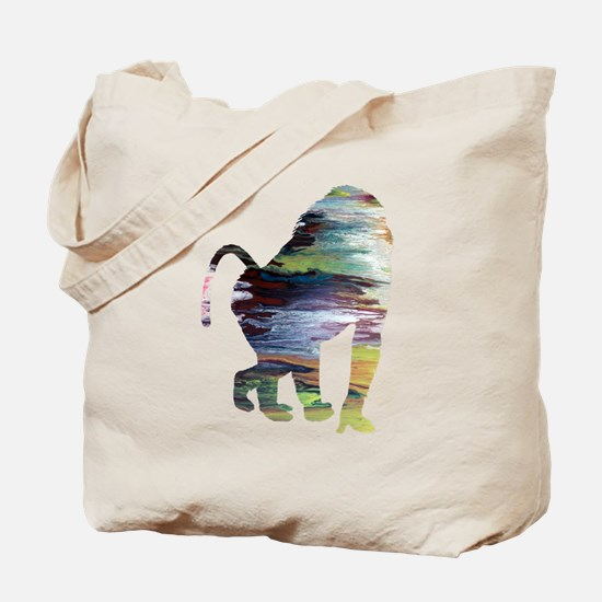 Unique Baboon Tote Bag