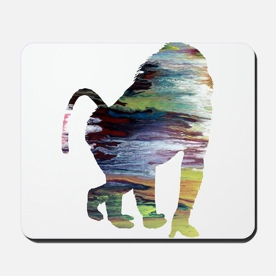 Baboon Mousepad