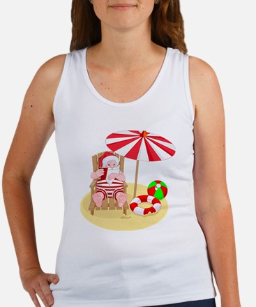 Cute Beach ball Women's Tank Top