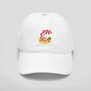 beach santa claus Cap