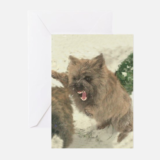 Hell-Fury Cairn Bitch Greeting Cards (Pk of 10