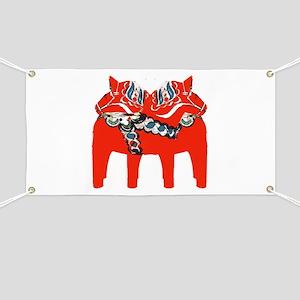 Swedish Dala Horse Gifts and Apparel Banner