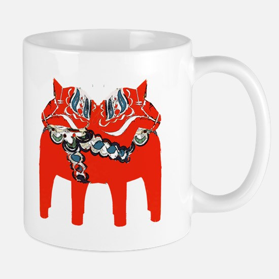 Swedish Dala Horse Gifts and Apparel Mugs