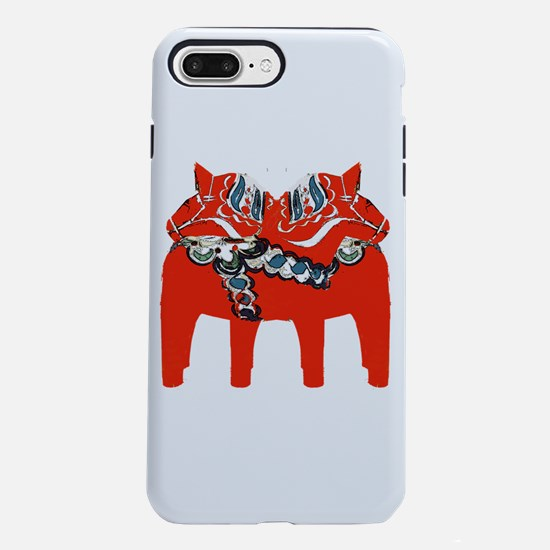 Swedish Dala Horse Gifts and Apparel iPhone 8/7 Pl