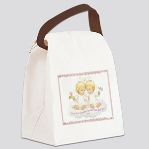 Let us love one another Canvas Lunch Bag