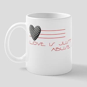 Love Is.. (Anti Valentine) Mug