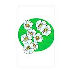 Blossoms Sticker (Rectangle)