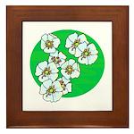 Blossoms Framed Tile