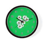 Blossoms Wall Clock
