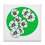 Blossoms Tile Coaster