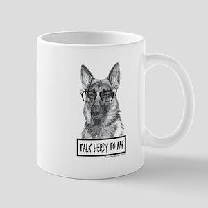 Talk Herdy German Shepherd Mug