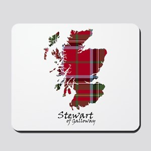 Map-StewartGalloway Mousepad
