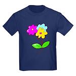 Cute Bouquet Kids Dark T-Shirt