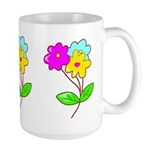 Cute Bouquet Large Mug