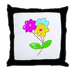 Cute Bouquet Throw Pillow