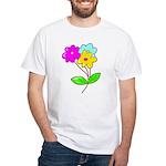 Cute Bouquet White T-Shirt