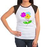 Cute Bouquet Women's Cap Sleeve T-Shirt