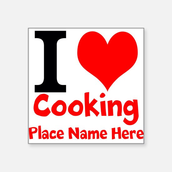 I Love Cooking Sticker