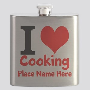 I Love Cooking Flask