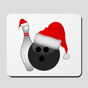 Christmas Bowling Mousepad