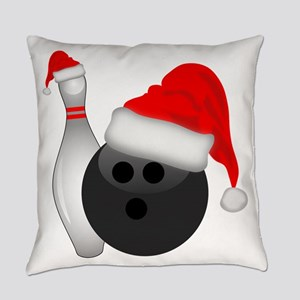 Christmas Bowling Everyday Pillow