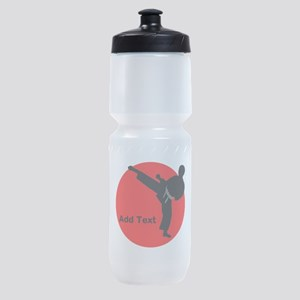 Karate Man Sports Bottle