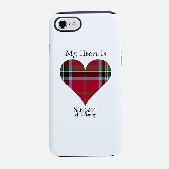 Heart-StewartGalloway iPhone 8/7 Tough Case