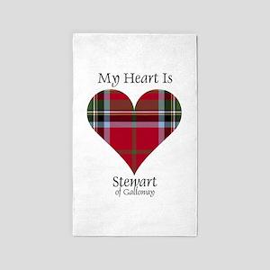 Heart-StewartGalloway Area Rug