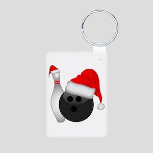 Christmas Bowling Keychains