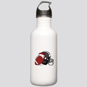 Christmas Football Stainless Water Bottle 1.0L