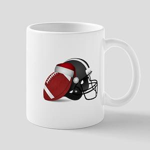 Christmas Football Mugs