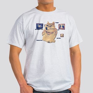 Hipster Doge Hipster things T-Shirt