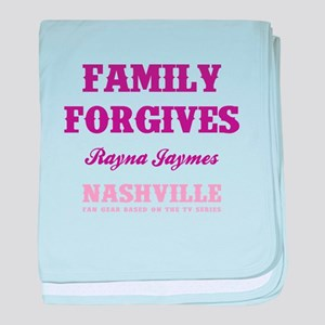 FAMILY FORGIVES baby blanket